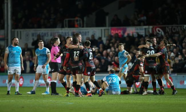 DERBY DELIGHT: Hopefully we can repeat last year's festive period win against the Ospreys at Rodney Parade