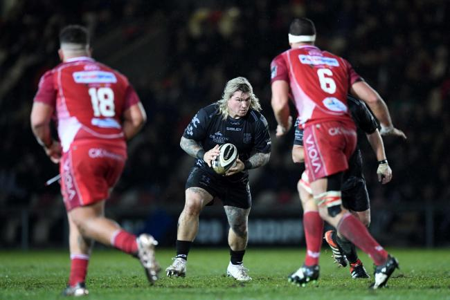 READY: Combative hooker Richard Hibbard is relishing a return to action with the Dragons