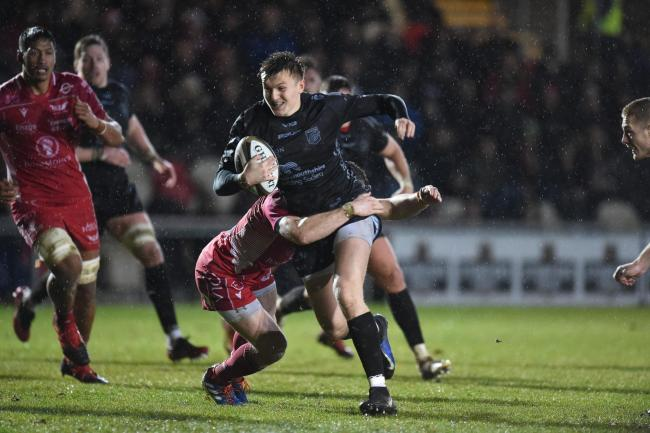 21.12.19 - Dragons v Scarlets - Guinness Pro 14 - Will Talbot of Dragons.