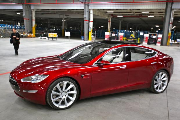 South Wales Argus: A prototype of the 2012 Tesla Model S. Picture: Steve Jurvetson/Flickr (under Creative Commons licence 2.0)