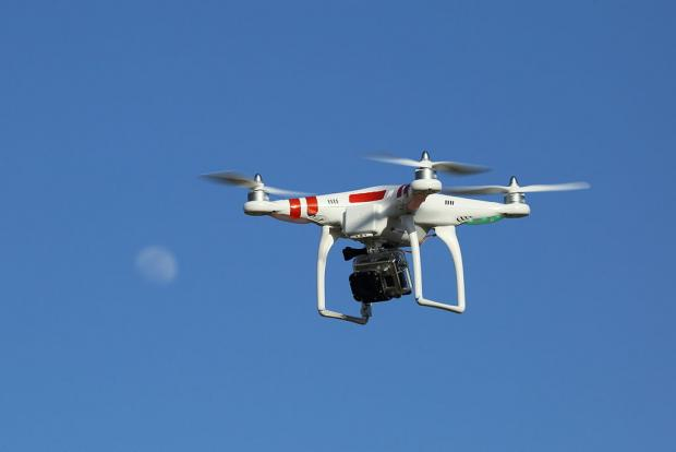 South Wales Argus: The DJI Phantom drone. Picture: Don McCullough/Flickr (under Creative Commons licence 2.0)