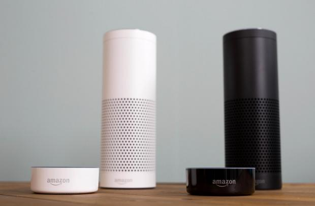 South Wales Argus: The Amazon Echo, which brought 'Alexa' into homes around the world. Picture: David Parry/PA Wire
