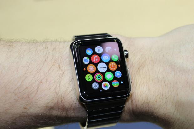 South Wales Argus: The Apple Watch smart watch. Picture: Martyn Landi/PA Wire