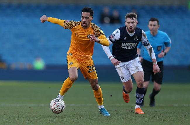 LOAN: Newport County winger Corey Whitely has joined Bromley on loan for the rest of the season