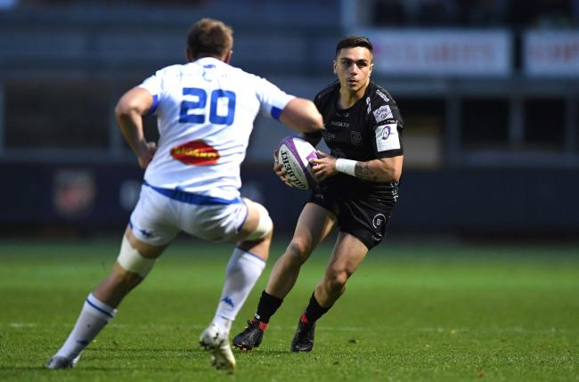 STARTING CHANCE? Jacob Botica could make his first Dragons start, at full-back rather than fly-half, in Castres on Saturday