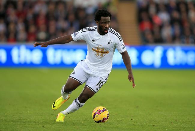 AVAILABLE: Former Swansea City striker Wilfried Bony