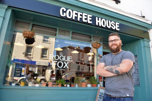South Wales Argus: HUMAN: When you buy local, you're buying from an actual human and not a corporate machine, says Rogue Fox's Will Green