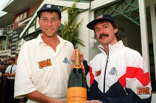 Michael Atherton and Jack Russell famously saved a Test at the Wanderers