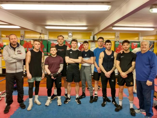 Cwmbran Boxing Club has been saved from closure after facing a bill of between £5,000 and £6,000 to locate and fix a water leak at their gym.