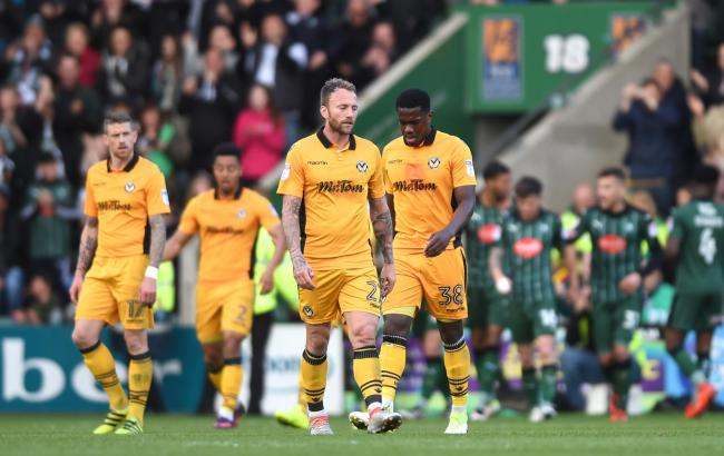 FLASHBACK: Newport County were thrashed 6-1 on their last visit to Plymouth Argyle in April 2017