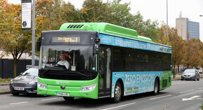 Make the switch to zero emissions with Newport Bus