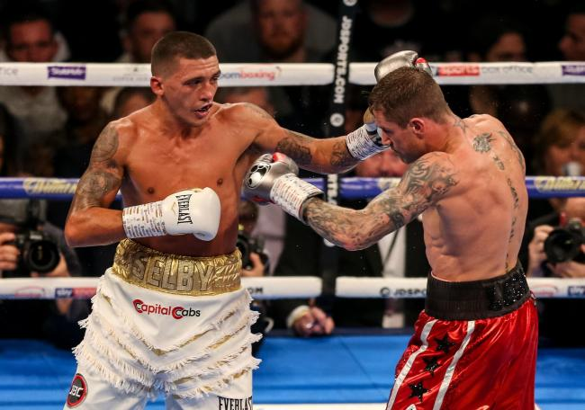 DETERMINED: Lee Selby beat Ricky Burns to set up a title eliminator