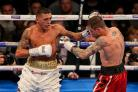 CRUCIAL WIN: Lee Selby, left, beat Ricky Burns in October to maintain his hopes of becoming a two-weight world champion. Picture: Paul Harding/PA Wire