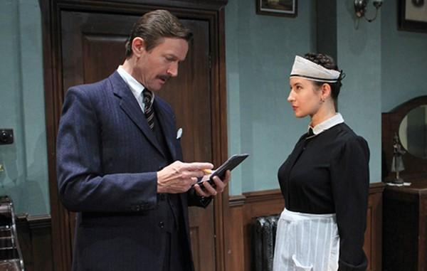 South Wales Argus: Agatha Christie's A Murder is Announced, performed at The New Theatre in Cardiff. Picture: New Theatre