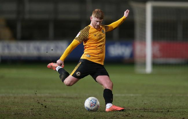 IMPRESSED: Dale Gorman gave an impressive performance in Tuesday's draw with Walsall. Picture: Huw Evans Agency