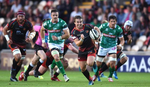 South Wales Argus: The Dragons won't face Benetton this weekend