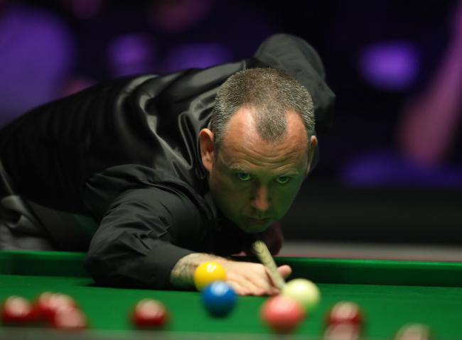 EXIT: Mark Williams is out of the Welsh Open. Picture from files
