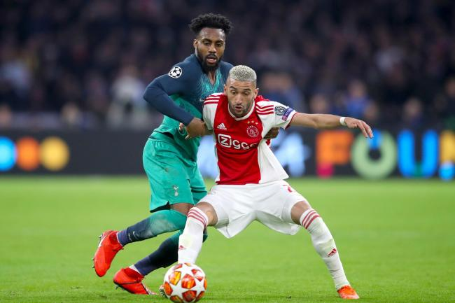 Frank Lampard believes Hakim Ziyech, right, will add an extra dimension to Chelsea