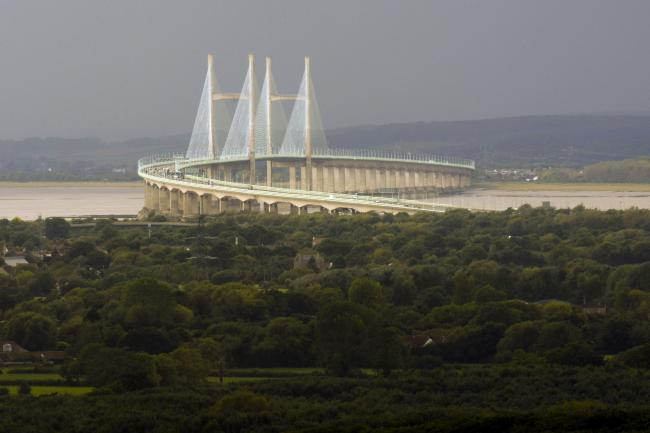 The M4 Prince of Wales Bridge. Picture: Ben Birchall/PA Wire