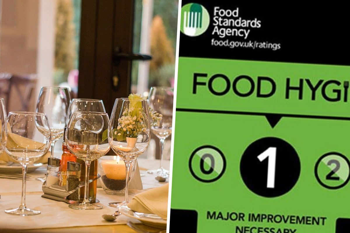 All the restaurants and cafes in Gwent with a one food hygiene rating