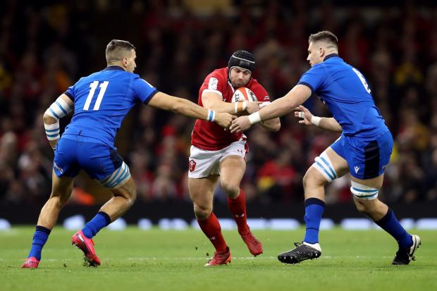 UPBEAT: Leigh Halfpenny believes Wales can bounce back from defeat in Dublin