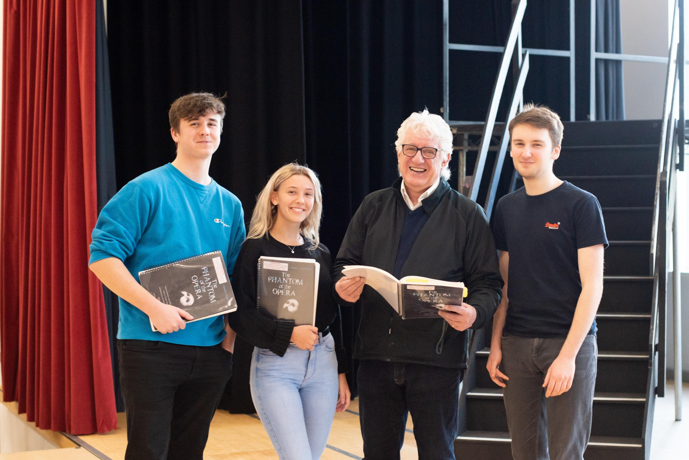 City school pupils receive acting masterclass from West End star