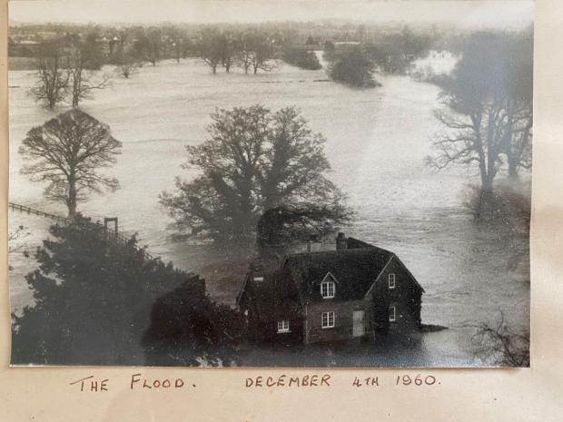 South Wales Argus: The Boat House in Llanover escaped flooding in 1960. Picture: sent in by Ross Murray