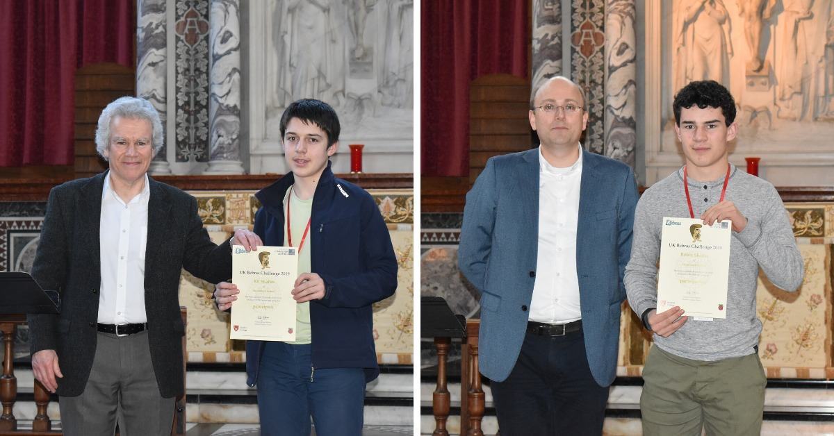 Brothers win acclaim in science competition