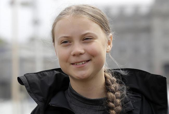 Climate change activist Greta Thunberg. Picture: Kirsty Wigglesworth/PA Wire
