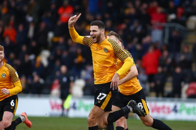 FANLESS: Newport County won't be celebrating with supporters when they return to League Two action