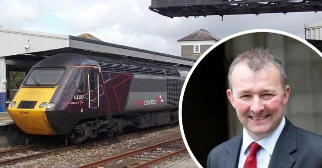 Secretary of State for Wales Simon Hart praised the funding, which aims to tackle overcrowding on carriages.