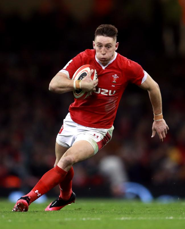 File photo dated 01-02-2020 of Wales Josh Adams. Picture: Adam Davy/PA Wire..