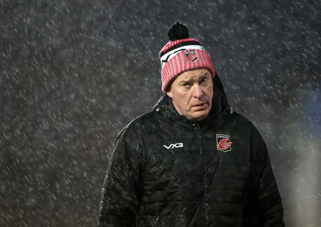 TOUGH GOING: Dragons chief Dean Ryan. Picture: Huw Evans Agency