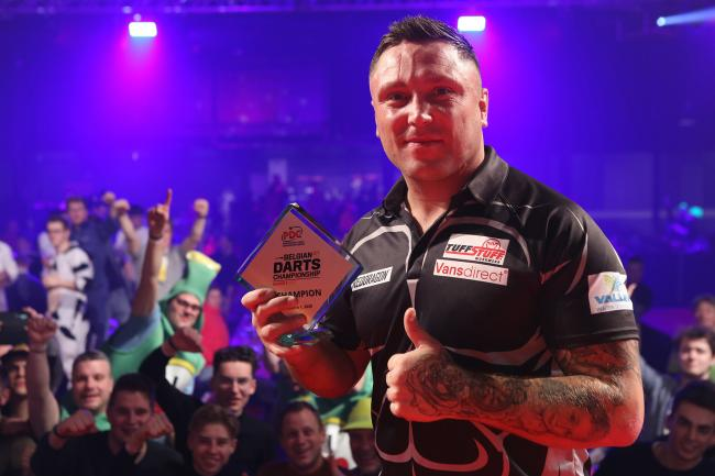 Price won a third Euro Tour title in Hasselt