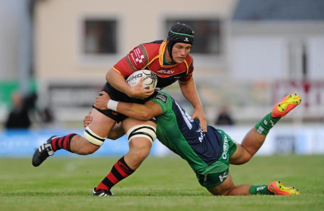 COMEBACK: Dragons flanker Nic Cudd starts for Ebbw Vale against RGC