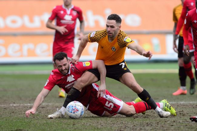 SIDELINED: Newport County AFC haven't played at Rodney Parade since beating Morecambe at the start of last month