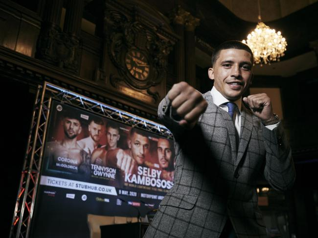 PROUD: Lee Selby faces George Kambosos in May. Pic: Mark Robinson/Matchroom