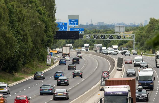 Smart motorways: Where are they in the UK? Picture: Steve Parsons/PA Wire