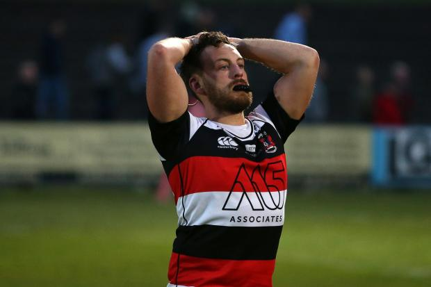 PAIN: Pontypool lost a promotion play-off last year and have suffered another blow in their bid for the Premiership