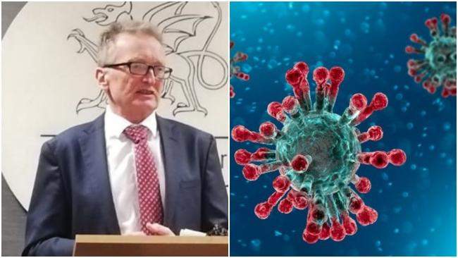 Chief Medical Officer for Wales Dr Frank Atherton has put forward reasons as to why Gwent is a coronavirus hotspot