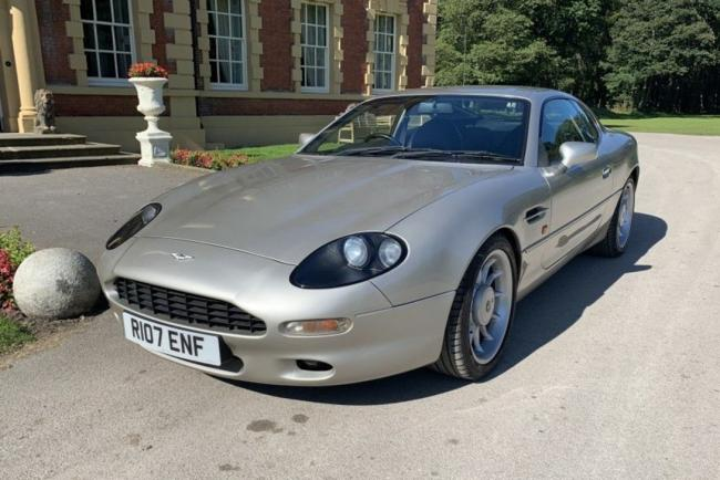 Roy Keane's Aston Martin up for sale