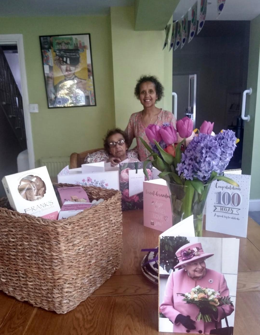 Newport great great grandmother celebrates 100th birthday