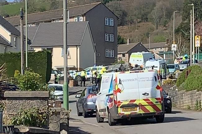 Police appeal for witnesses following 'disturbance' in Caerphilly yesterday