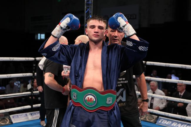 COMEBACK: Gwent boxer Kieran Gething will push for more titles when he returns from injury (Picture: www.liamhartery.com)