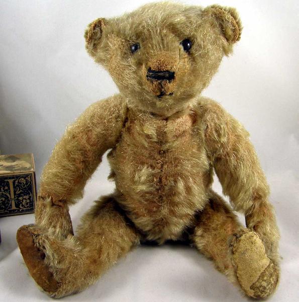 Bears value teddy old Steiff teddy