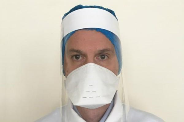 There is potential to step up to two million face shields a week. Picture: Welsh Government.