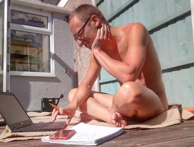 People are being encouraged to strip off this weekend. Credit: British Naturism