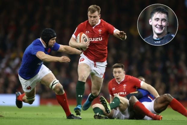 TALENT: Wales centre Nick Tompkins is set to join the Dragons on loan, with fly-half Sam Davies believing such links show the region's progress