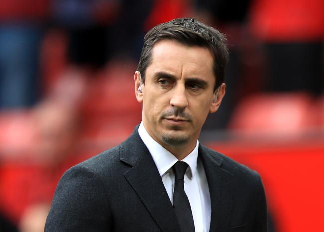 WARNING: Gary Neville is fearful of the financial hit that EFL are going to take in the coming months