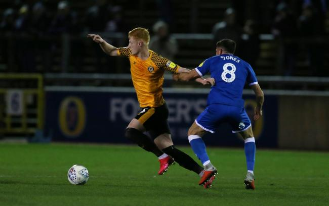 SIDELINED: Newport County haven't played since taking on Carlisle on March 10